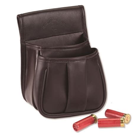 the leather pouch leather trap skeet pouch rifle accessories galco