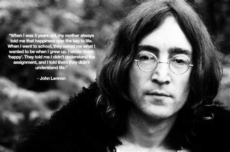 john lennon biography en anglais gt le bonheur ne se d 233 finit pas par un grand calme mais