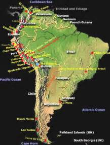 south america introduction to flora and fauna ancient