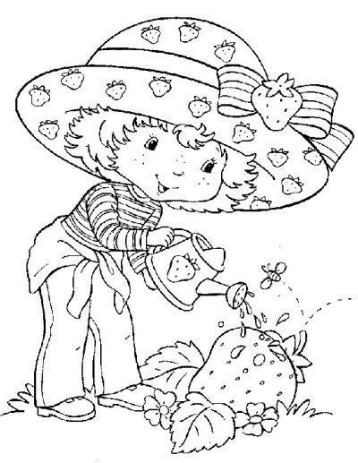imagenes para colorear jardin dibujo de rosita fresita en el jard 237 n dibujo para