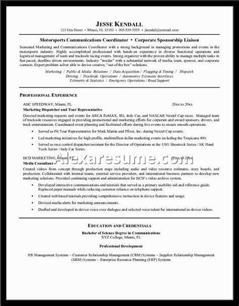 complete cv sle complete resume format 28 images sle resume format