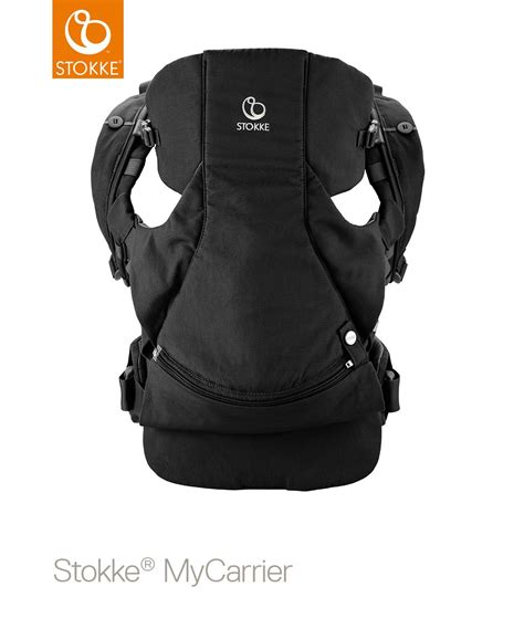 front carrier stokke 174 mycarrier front back carrier black 163 129 00