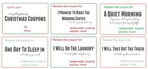 printable love coupons for mom free printable christmas coupon book money saving mom 174