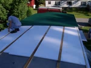 mobile home metal roof kits building peaked roof on mobile home mobilehomerepair