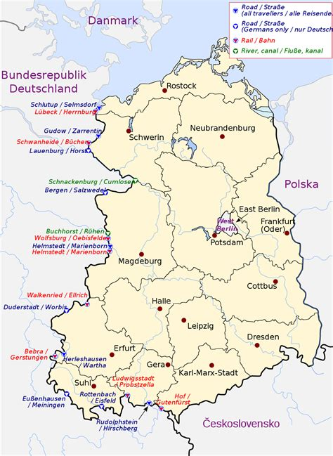 map of east germany inner german border wiki fandom powered by wikia