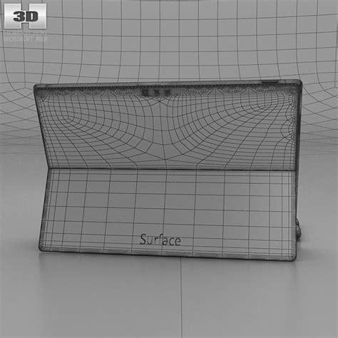 Cover Pro 3d microsoft surface pro 3 cyan cover 3d model hum3d