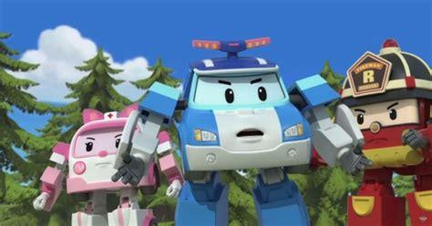 Background Robo Poli Kecil Poli Rescue Station hyundai s robocar poli show teaches traffic