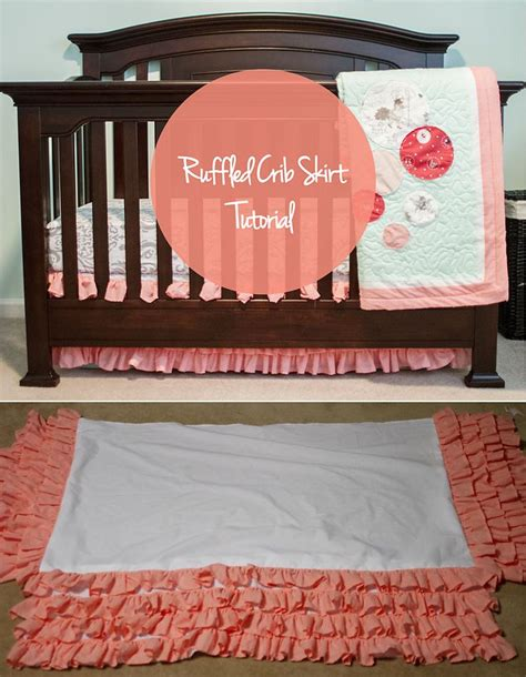How Much Fabric For A Crib Skirt by Diy Crib Skirt Avery Gail