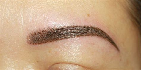 eyeliner tattoo problems common eyebrow tattoo problems and how to avoid them