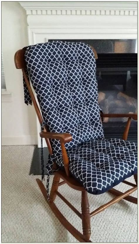 rocking chair seat pad uk dutailier rocking chair replacement cushions chairs