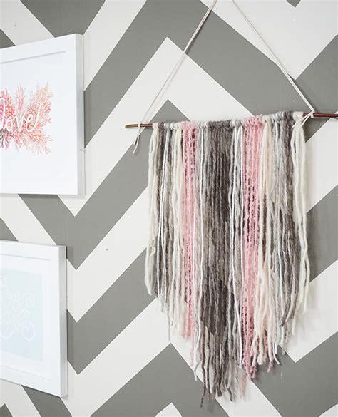 diy decorations yarn diy yarn tapestry