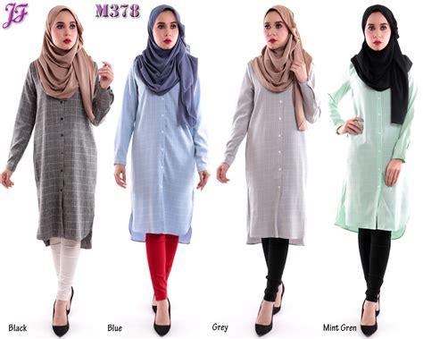 Kemeja Dress 36 new kemeja blouse m378 jf fashion