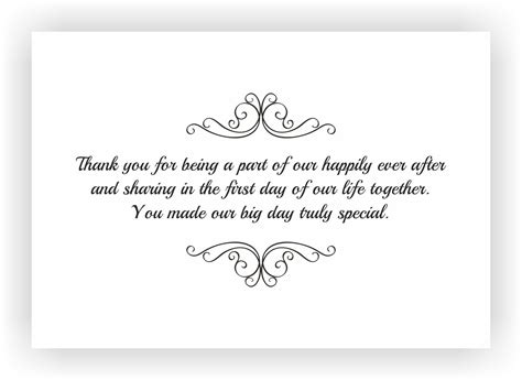 wedding thank you card message template sle thank you note sarahepps