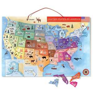 magnetic maps of the united states magnetic map of the united states toys puzzles