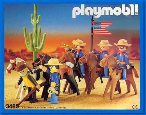 playmobil western series set  cavalary