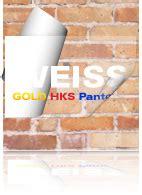 Aufkleber Sonderfarbe Gold by Aufkleber Weiss Drucken Sonderfarben Im Digitaldruck