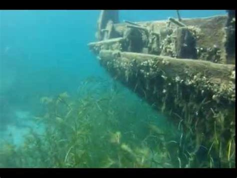 the sweepstakes shipwreck tobermory ontario canada youtube