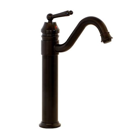 oil rubbed bronze kitchen sink faucet freuer vittorio collection tall classic bathroom sink