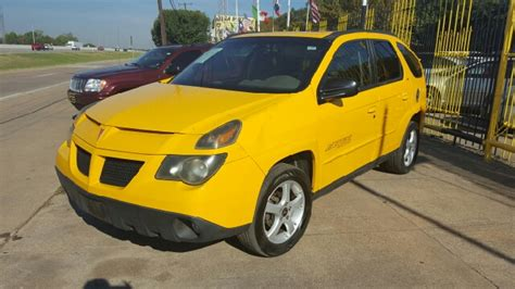 pontiac aztek yellow 2003 pontiac aztek for sale 328 used cars from 1 200