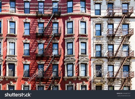 Apartment Building Search Nyc New York City Apartment Building Background Stock Photo