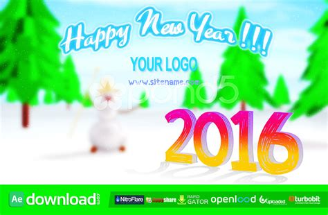 after effects template free year happy new year pond5 template free after effects