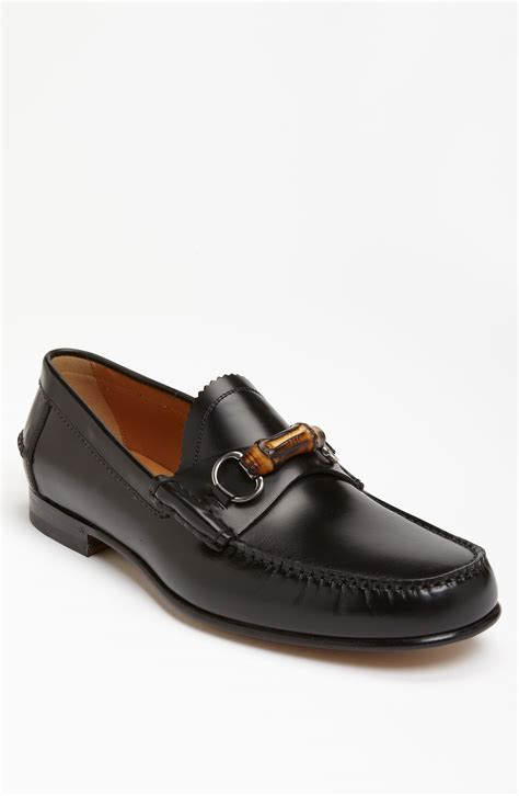 black gucci loafers gucci millet loafer in black for lyst