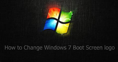 windows 7 boot screen change pirate boot screen