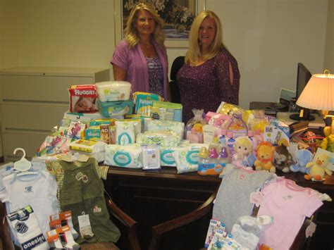 Richie Donates Baby Shower Gifts To Charity by Employees Donate Baby Shower Items For Of Wounded