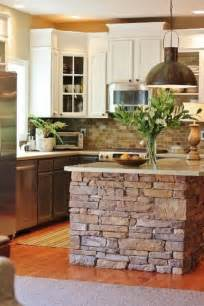 Stone Kitchen Islands 40 Rustic Home Decor Ideas You Can Build Yourself Page 2