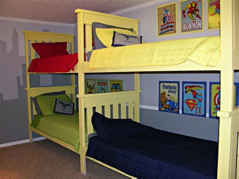 4 Bed Bunk Bed 25 Diy Bunk Beds With Plans Guide Patterns