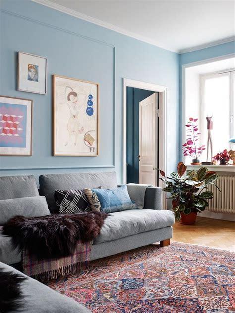 fabulous blue living room walls also home design ideas