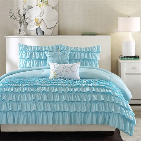 light blue comforter set home design ideas