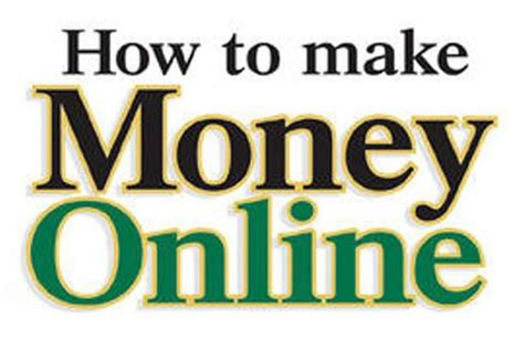 How To Make Money With Money Online - how to make money online jpg