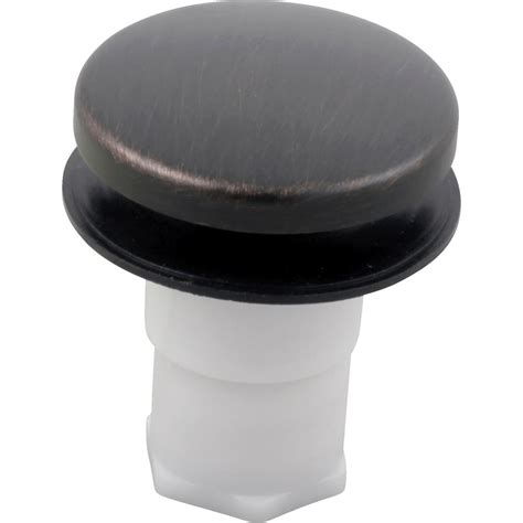 bronze drain assembly stopper assembly in venetian bronze rp16686rb the home