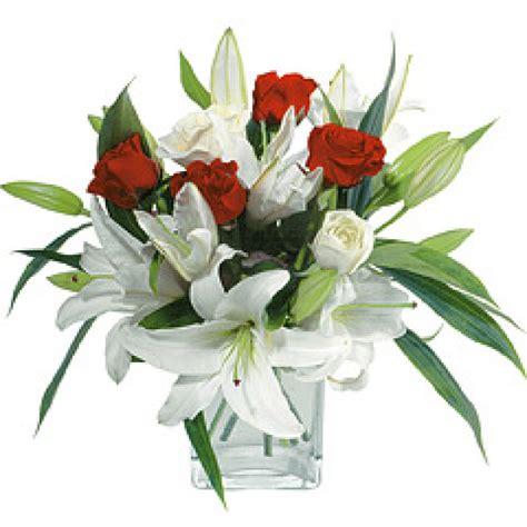 imagenes de lilis blancas 123flores com mx arreglo con casablancas rosas envio