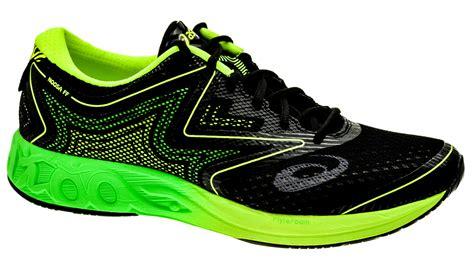 Sepatu Asics Noosa Ff asics noosa ff black green gecko safety yellow bestellen