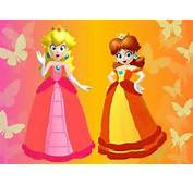 Princess Peach And Daisy  Free Coloring Pages On Art
