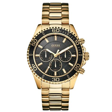 gold watches guess stainless steel in gold for no color lyst