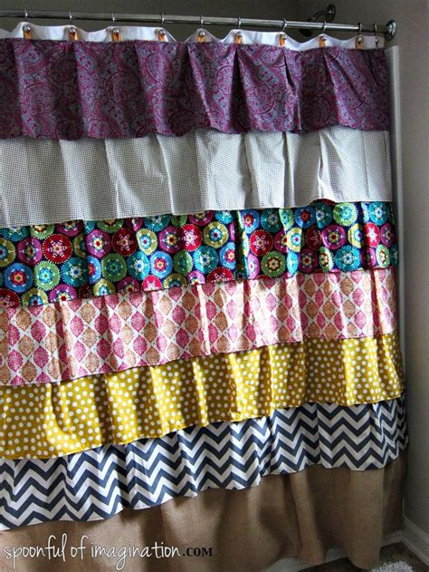 homemade curtain ideas homemade shower curtain home ideas pinterest