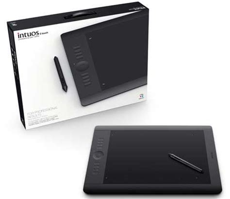 wacom intuos5 lineup of graphics tablets rolled out