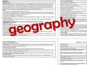 geography objectives ks2 pe year group objectives curriculum 2014