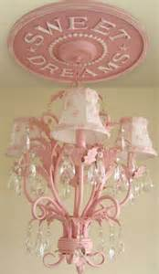 pink baby chandelier house of thrifty decor our nursery part 3 every princess