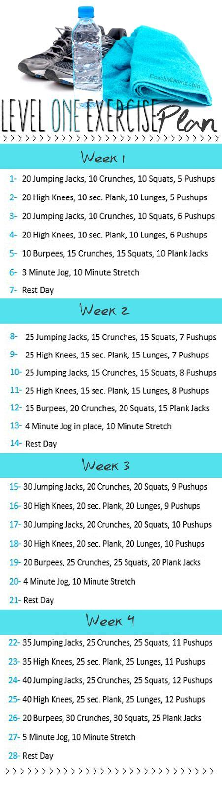 25 best ideas about beginner workout plans on