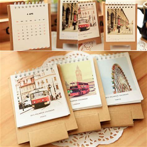 calendar design price korean creativity fashion scenery design desk calendar