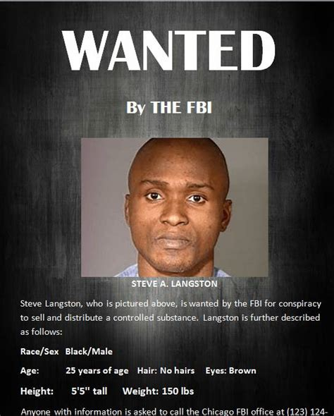 Fbi Most Wanted Poster Www Imgkid Com The Image Kid Fbi Wanted Poster Template