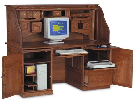 antique roll top computer desk ordinary antique computer
