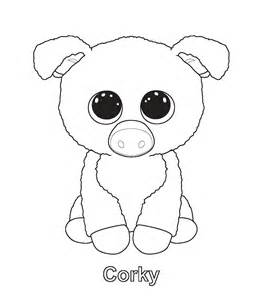 mandy beanie boo colouring pages