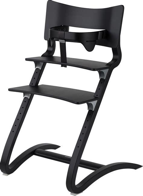 kinderhochstuhl leander leander hochstuhl mit sicherheitsb 252 gel schwarz leander