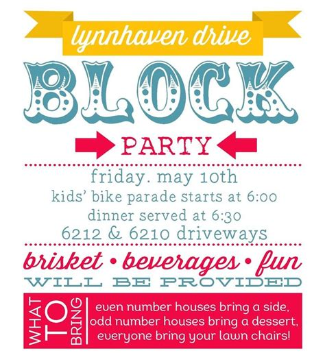 Best 25 Block Party Invites Ideas On Pinterest Neighborhood Party Block Party Games And Block Flyer Template Summer