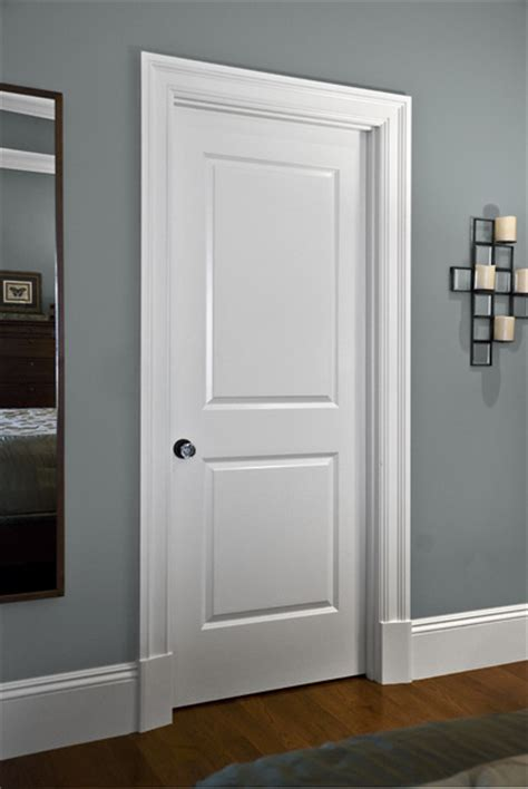 door trim styles use base moulding on casing to transition from base board